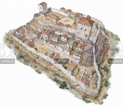 Villaggio di Montarrenti, XV secolo