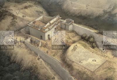 La ristrutturazione gherardesca del castello di Miranduolo, XII secolo