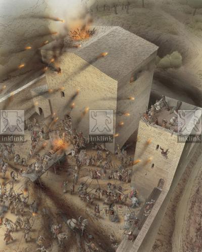 L'assedio delle milizie volterrane al castello di Miranduolo, prima metà del XII secolo