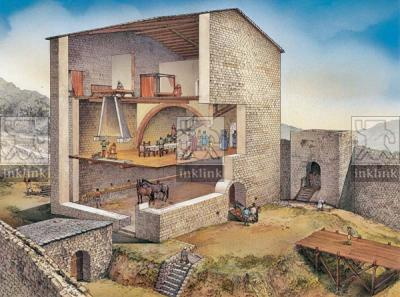 Il palazzo della famiglia Cantoni, XIII secolo