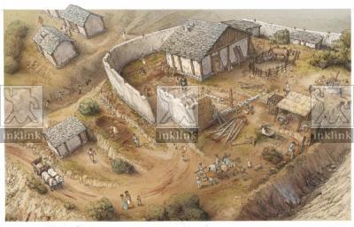 Il castello di Miranduolo, X secolo