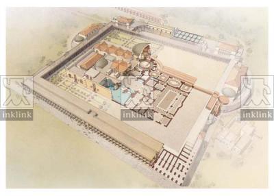 Planimetria delle Terme di Caracalla