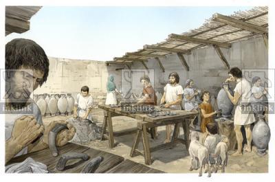 L'apposizione del bollo sulle anfore prodotte a Giancola nella tarda età repubblicana