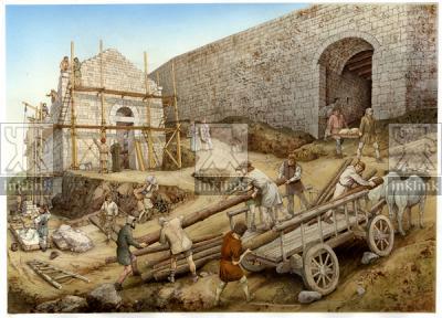 Costruzione della chiesa di San Michele, XI secolo