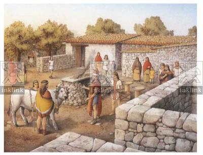 Il palazzo arcaico, VI secolo a.C.