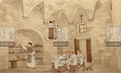 Il Convento dei Domenicani: il refettorio