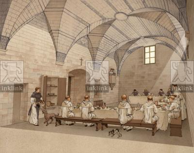 Il Convento dei Domenicani: il refettorio grande