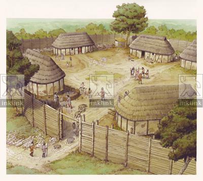 Il villaggio di Campiglia nel X secolo