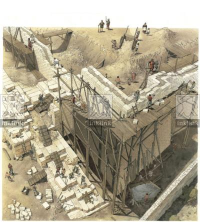 La costruzione delle mura aragonesi