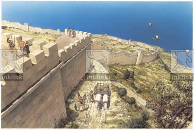 Le mura messapiche, III secolo a.C.