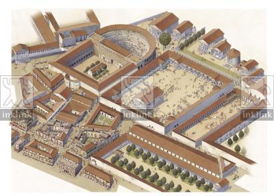 L'area della Crypta Balbi in epoca imperiale, I secolo