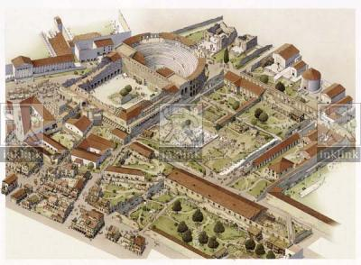 L'area della Crypta Balbi in epoca tardoantica, V - VI secolo