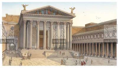 Foro di Augusto con Tempio di Marte Ultore