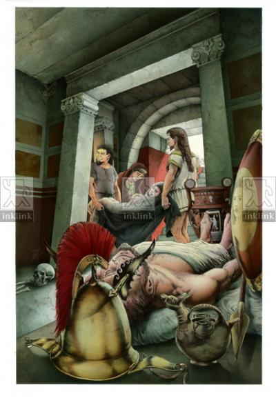 L'Ipogeo Palmieri in epoca messapica, IV - II secolo a.C.