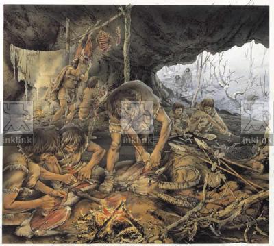 Comunità di cacciatori all'interno dell'Arma dello Stefanin nel Paleolitico superiore