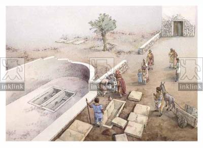 Le sepolture di epoca bizantina