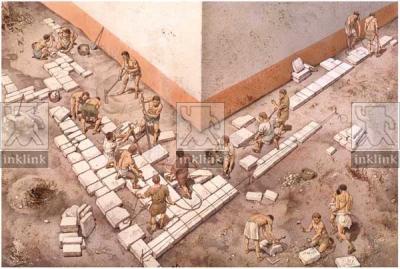 La strada bizantina: il riuso delle epigrafi romane