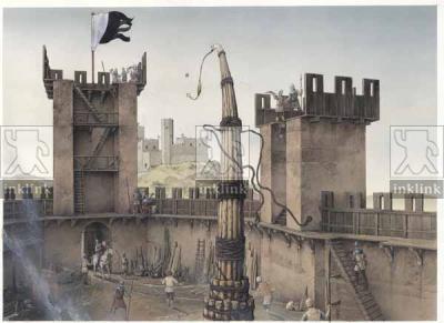 L'assedio di Montemassi, 1328 (veduta da Battifolle)
