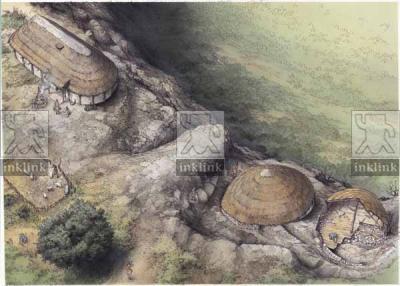 Il castello di Montemassi, la prima fase di vita