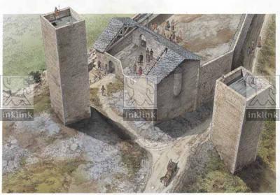 Il castello di Montemassi, fase Aldobrandeschi