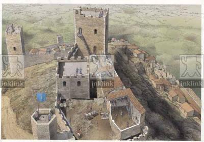 Il castello di Montemassi, fase Pannocchieschi