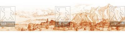 La Via Francigena in Svizzera ed in Italia Settentrionale Genève Milano Como