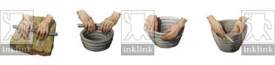 Le fasi di realizzazione di un vaso con la tecnica a colombino