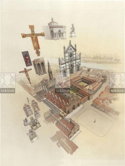 La chiesa di Santa Croce a Firenze