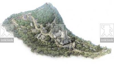 I ruderi di Castelvecchio, stato attuale