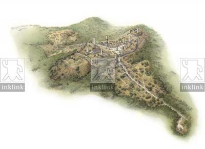 Il castello di San Gimignano, inizi XII secolo