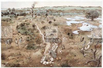 L'insediamento altomedievale: le capanne ed il pozzo