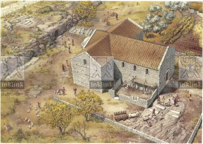 La chiesa dei Santi Stefani, X secolo
