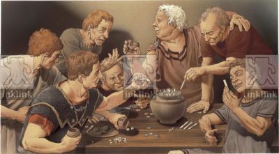 Il gioco in epoca romana: tessere lusorie, pedine, dadi
