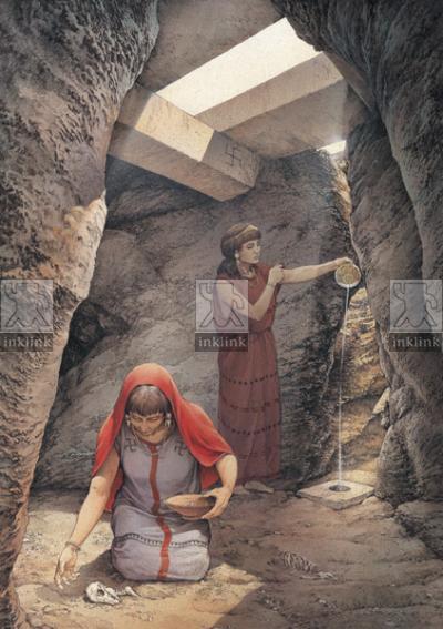 Pozzo sacrificale, IV - III secolo a.C.