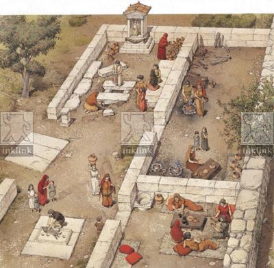 Luogo di culto, IV - III secolo a.C.