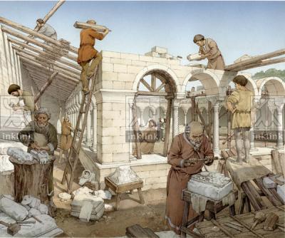 Strada dell'abitato di Populonia, IV - III secolo a.C.