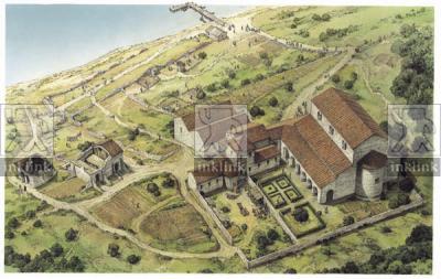 Il monastero e la chiesa basilicale di Diaporit, fine V - inizi VI secolo
