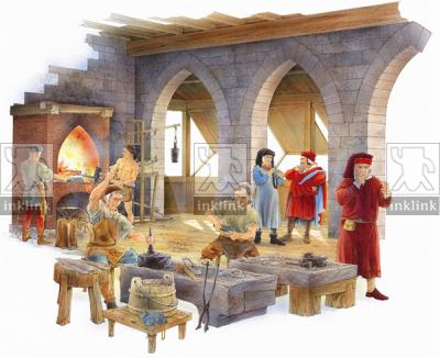 Una zecca medievale